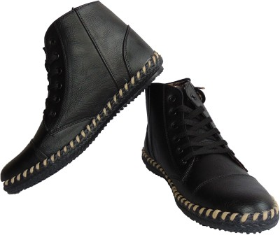 Vayu Black Casual Shoes