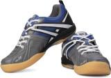 Balls Badminton Shoes (Grey, Blue)