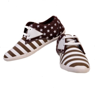 Stylords Metellic Brown Casual Shoes