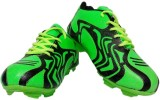Aryans Leopard Football Shoes (Green)
