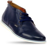 John West Oxford Casual Shoes (Blue)
