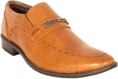 Merashoe Msf8015-Tan Slip On Shoes