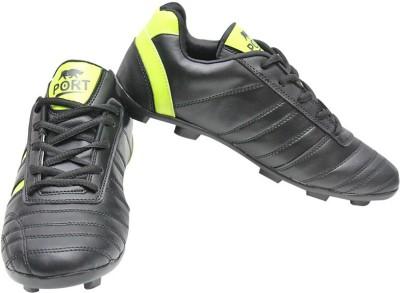 Port Football Shoes(Black)