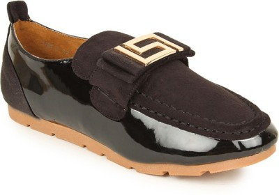 Lyc Black Casual Shoes