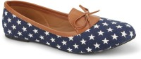 Chalk Studio Stellar - Navy Blue & Tan - Ballerinas Bellies(Navy)