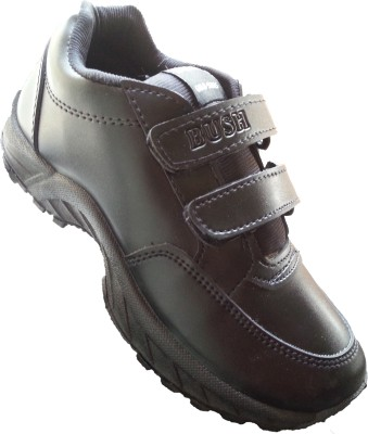 Bush Black Gola Velcro Casual Shoes