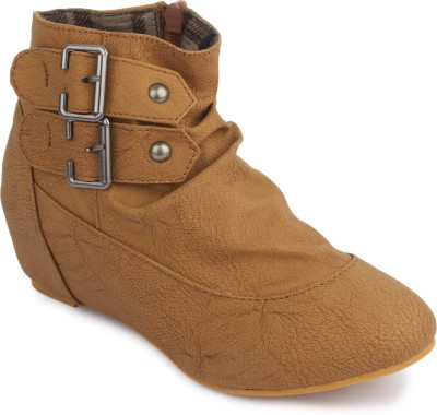 Phedarus Ankle Length Tan Boots Boots