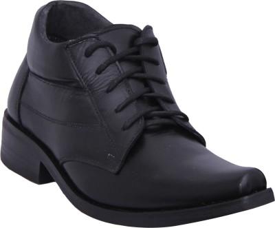 Walkaway Black Color Corporate Casual Shoes