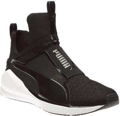 Puma Fierce Eng Mesh H2T Training & Gym Shoes(Black)