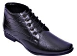 Oora Boots Lace Up Shoes (Black)