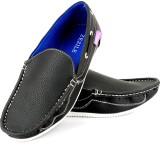 Zezile Black Loafers (Black)