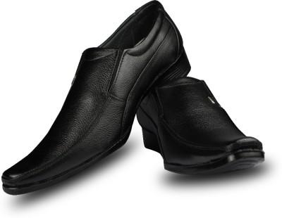 Blue Harpers Classic Ranger Black Slip On Shoes