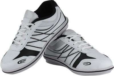 Vivaan Footwear White-179 Running Shoes