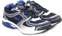 Fila Running Shoes(Navy, Silver)