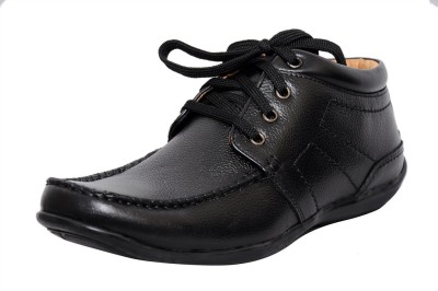 Zoom Zoom Men's Pure Leather Formal Shoes D-2572-Black-9 Lace Up