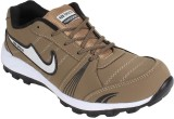 Air Space Running Shoes (Brown, Grey)
