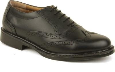 VILAX Genuine Leather Classic Brogue Shoes Lace Up