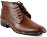 Peponi Brogue Style Lace Up (Brown)