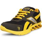 NAVCHETAN Running Shoes (Grey, Yellow)