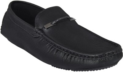 Rockin Black Mens Loafers