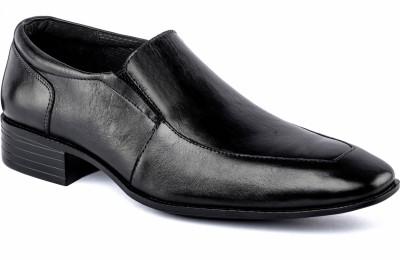 Nudo Cube Black Slip On Shoes