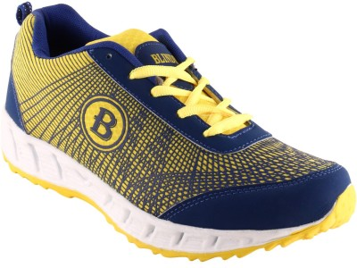 Blinder Men's CR-002-YEL-N.BLUE Running Shoes