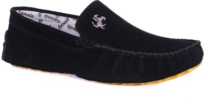 Royal Collection Black Loafers