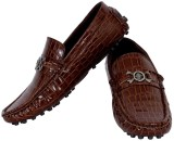 Elvace 6003 Loafers (Brown)