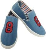 Comfort Cotton D-8 Canvas Shoes (Blue)