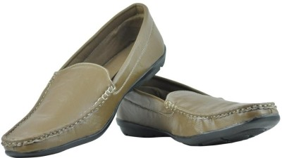 Alpha Man Brown Loafers