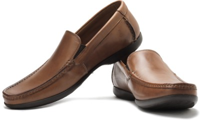 Clarks Finer Sun Genuine Leather Slip On Shoes