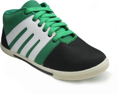 TerraVulc Green Canvas Shoes