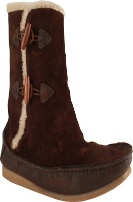 Salt N Pepper 11-383 Ozone Dark Brown Boots