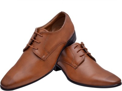 Hirels Tan Stylish Derby Lace Up(Tan)