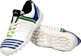 HDL Cricket Shoes (White, Blue, Green)