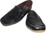 ANP Classy Black Loafers (Black)