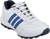 Advin England White & Blue Running Shoes...