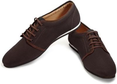 FUNK Honty Black Canvas Shoes
