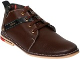 Vittaly Casuals Party Wear Shoes (Brown)