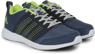 Adidas ADISPREE M Running Shoes(Green, Navy, Silver) at flipkart