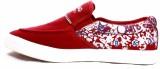 Krish Men Casual Shoes (Red)