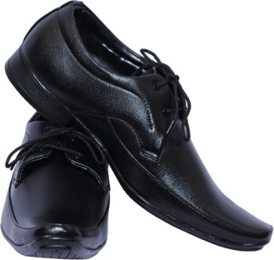 Smoky Black Party ware Formal Lace Up Shoes
