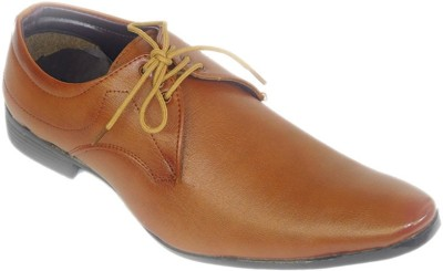 A Cheval Brown Lace Up Shoes