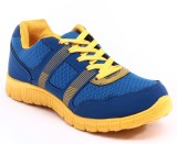 Leecam Corpus Running Shoes (Blue, Yello...