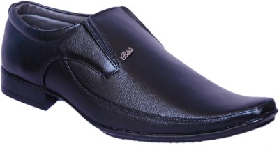 Smoky Genuine Leather Slip On Shoes