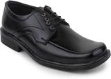 Hansx Black Lace Up Shoes (Black)