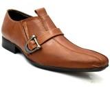 Zoot24 Tan Monk Strap Shoes (Tan)