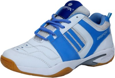 Zeefox Badminton Shoes(White)