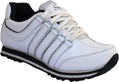 Mr. Chief white running sport shoe Running Shoes