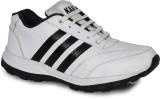 Kaar Running Shoes (White, Black)